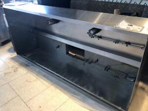 Restaurant equipment for sale - exhaust hoods, mixers, stoves