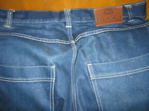 Gucci Carpenter  Jeans Painter Pants  Rare Vintage Made In Italy