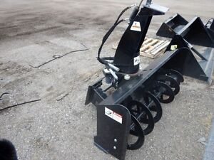"NEW 73"" ERSKINE High Flow Skidsteer Snowblower Regina Regina Area image 1"