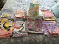 Kids single bed sheets, frozen tinker bell, monster high and more.