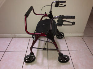 Extra Wide Rollator Walkers for sale