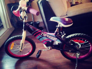 "girls 16"" bicycle for sale! Excellent condition. Asking 60$"