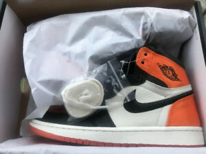 AIR JORDAN 1 SATIN SHATTERED BACKBOARD SIZE 8!!