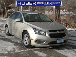 2015 Chevrolet Cruze Heated Leather Seats/Sunroof