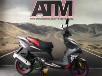 SINNIS HARRIER 125cc SCOOTER, BRAND NEW, 0% FINANCE, 24 MONTHS WARRANTY