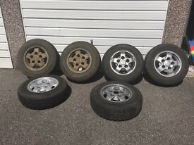 Land Rover Discovery 1 Alloys and Tyres