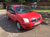 FORD FUSION 3 1.6 2004 1 LADY OWNER FROM NEW 1 YEARS MOT DRIVES THE BEST