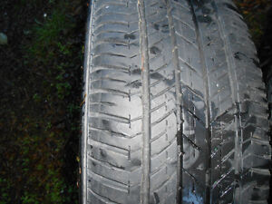 4 tires with steel rims Campbell River Comox Valley Area image 3
