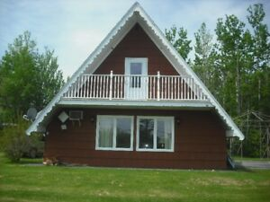 Large A-frame cottage next door to sandy beach
