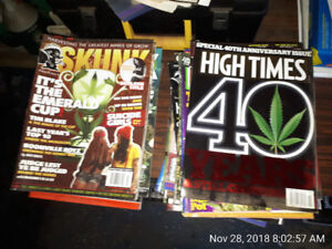 SKUNK MAGAZINE AND HIGH TIMES