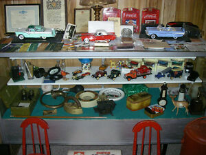 Collectible Toy Tractors,cars,bikes etc.with display cases Sarnia Sarnia Area image 2