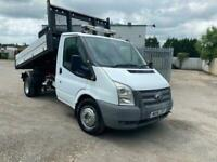 2014 FORD TRANSIT 125PS ONE STOP DROPSIDE TIPPER, 84K MILES, STUNNING TRUCK!
