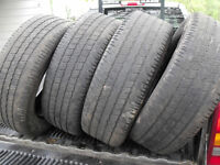*** Complete Set of 275 / 60 - 20  Tires ***