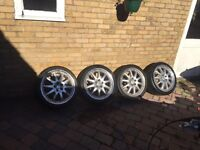 """18"""" Ford Focus Transit connect mondeo RS ST Alloy Wheels And Tyres 225/40/18"""