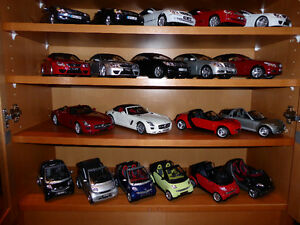 DIECAST COLLECTION FOR SALE ......1/18 SCALE  ALL CONVERTIBLES /