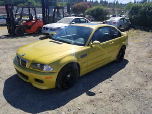 2001 BMW M3 6 Speed Coupe