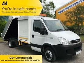 2010/ 10 Iveco Daily 3.0 50c15 Tipper / Pod Tool Box ( New Build Body ) 4350 wb
