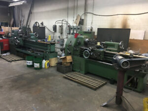 BUSINESSES FOR SALE or FOR RENT( Machine shop )