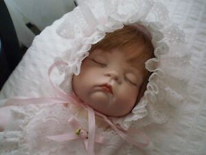 Adorable Hand Made Porcelain Baby Doll West Island Greater Montréal image 2