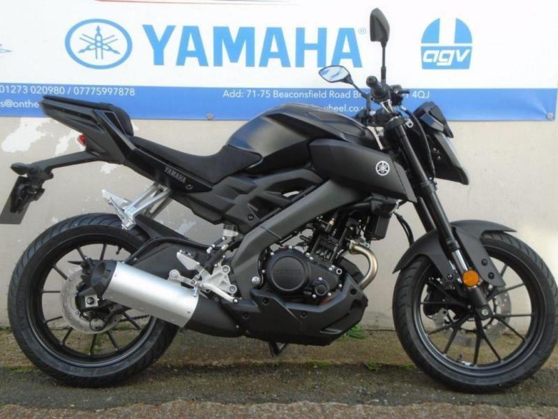 2017 YAMAHA MT-125 ABS, TECH BLACK BRAND NEW! *0% FINANCE*