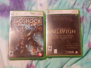 Games for xBox & xBox 360 - Price as indicated OBO