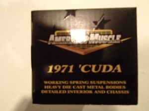 American Muscle ERTL Collectables 1971 HEMI Cuda Sarnia Sarnia Area image 6