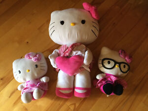 3 Hello Kitty / vendues ensemble  Saguenay Saguenay-Lac-Saint-Jean image 1