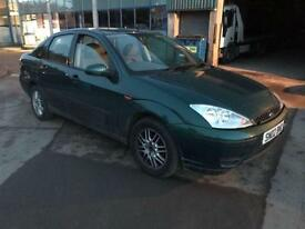 Ford Focus 1.6i 16v LX 4 DOOR - 2002 02-REG - 6 MONTHS MOT