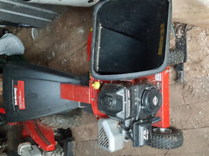 Trade wood chipper/shredder for lawn tractor