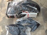 honda crf 450 plastics in black new in box un used