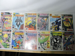 Web of spider man comic book collection