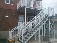 Employer rechercher installateur de  balcon et rampe