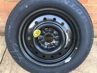 Brand new Dunlop spare tyre 205/60/16R