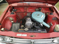 L16 Engine and 4-Speed Trans