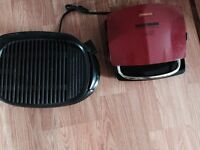 One George Foreman and Hamilton Beach grills