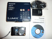 Panasonic DMC zs7 (TZ10) 12megapixel and with 12 X optical zoom