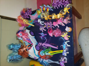 3 Toys! My little ponies,Little people,stuffies,Paw Patrol,ect