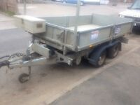 Ifor Williams tt105 tipping trailer