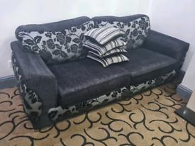 3 Sofas + 4 Cushions