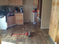 Floor installation & repairs