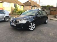 VW Volkswagen Golf 2.0 GT TDI 2005, 74,000 Miles, FULLY LOADED, New Cambelt