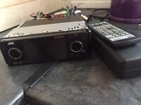 JVC Exad car stereo, CD player, DVD player