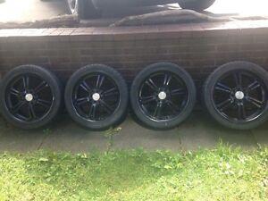 """17"""" rims tires"""