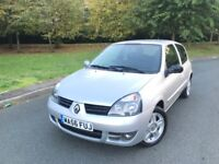RENUALT CLIO CAMPUS SPORT - LOW MILES - IDEAL FIRST TIME OR LEARNER CAR - FREE DELIVERY -P/X WELCOME
