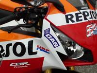 HONDA CBR1000RR-F FIREBLADE REPSOL COLOURS R&G EXTRAS