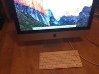 "Apple iMac 21.5"" Mid 2011 i5 3.3ghz boost 8GB Ram AMD Radeon 500gb HD"