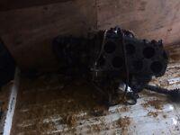 Mk2 golf vr6 engine and box