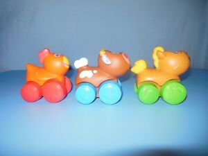 Playskool set of three Animal Cars