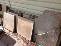 Assorted slabs