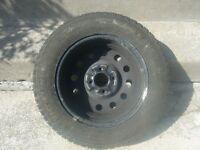 4tires 205X 75X 14 with rims for sale